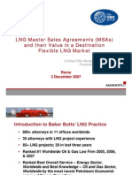 LNG Master Sales Agreement & Their Value in a Destination Flexible LNG Market - Steven Miles