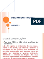 Direito Constitucional- Un 3