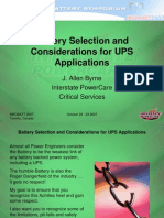 Battery Selection for UPS.pdf