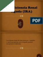 Insuficiencia Renal Aguda (IRA)
