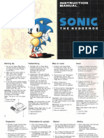 Booklet Ita Sonic 1 Md