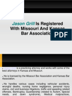 Jason Grill Is Registered With Missouri And Kansas Bar Association