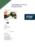 Digital D1S D1R HID BallastA8073-BD1
