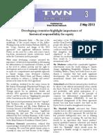 Third World Network – Bonn Update 3