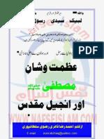 Azmat'o Shan'e Mustafa (Alehe Salat-o-Salam) Injeel Main [Urdu]