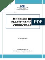 Modelos de Planificación Escolar