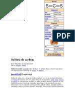 Sulfură de carbon