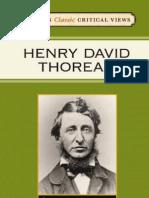 93708518 Bloom s Classic Critical Views Henry David Thoreau Harold Bloom
