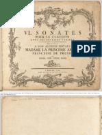 Bach CPE - Sonatas_H136etc