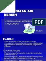 9 Penyediaan Air Bersih