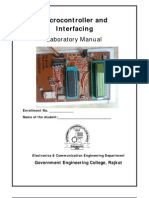Microcontroller Lab Manual GTU SEM v 2012