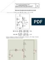 Solucion Ejercicios Circuito de Polarizacion Divisor de Voltaje