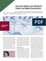 Paradigmenwechsel vom System zum Netzwerk – Von Connected Health und Naked Conversation