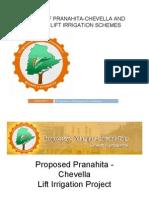 Pranahita - Chevella- Jurala Lift Irrigation Schemes