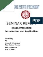52823724 SEMINAR REPORT Image Processing