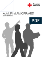 First Aid - CPR - AED Adult Ready Reference