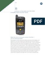 MC65 Spec Sheet 0810 v2