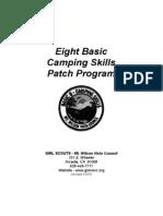 EightbasiccampingskillsGSMWVC[1] - Reference Guide