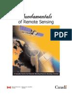 Fundamentels of Remote Sensing