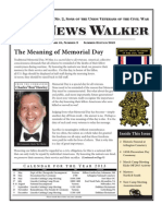 SUVCW, Lincoln-Cushing Camp,Summer 2013 newsletter, The News Walker