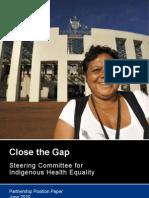 Partnership Position Paper