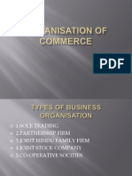 Organisation of Commerce