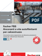 fischer FBS, ancoranti a vite autofilettanti per calcestruzzo