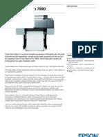 Epson Pro 7890 Plotter Dijital Baski Makinasi  - GenisFormat.com