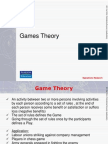 7. Game Theory