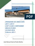 Program a de Direccion