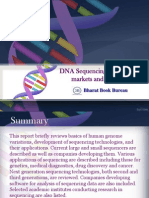 DNA Sequencing - Technologies,Markets and Companies