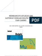 Modul Membangun Aplikasi Sms Gateway Dengan Delphi 7 Mysql Blog1