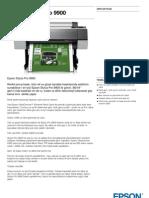 Epson Pro 9900 Spectro Plotter Dijital Baskı Makinası  - GenisFormat.com