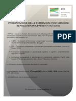 Locandina Presentazione Formazioni in Psicoterapia