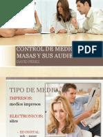 Ponencia Control de Medios de Masas y Sus Audiencias David Pérez OJD - AEEPP