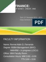 Basic Finance - Introduction
