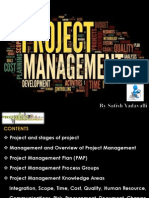 Project Management, project, knowledge area