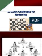 Strategic Challanges for Leadership