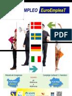 Postes y Poster Con Programa Euroempleat