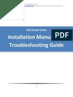 Old School Value Stock Spreadsheet Manual