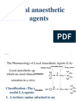 Local Anesthetic Agent