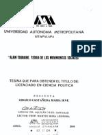 A. Touraine Tesis