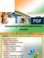 income from house and business