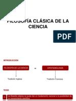 FILOSOFÍA CLÁSICA DE LA CIENCIA