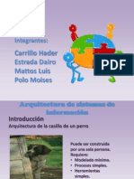 presentacionArquitecturaSistemas