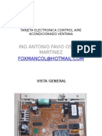 Detalles Tarjeta Electronica Control Aire Acondicionado Ventana