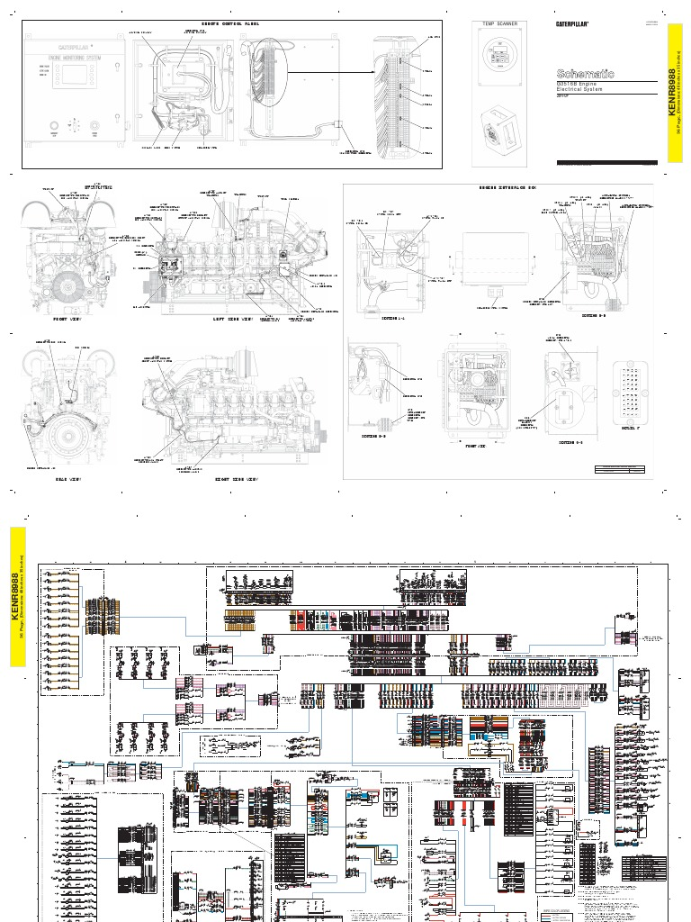 Cat 3512 Wiring Diagram Detailed Schematics 2009 Arctic Z1 3516 Caterpillar Diagrams Basic Guide U2022 400 Atv Schematic