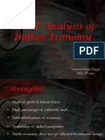 SWOT Analysis of Indian Economy