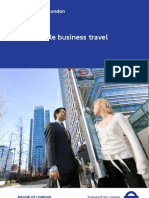 Sustainable Business Travel