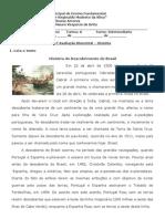 Prova Bimestral_história_abril2013